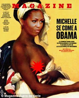 michelle obama spanish magazine