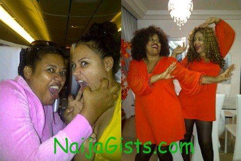 nadia buhari and mother