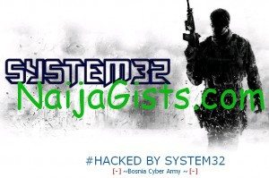 nafdace website hacked