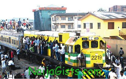 nigeria train passengers
