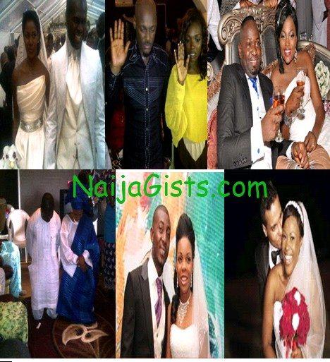 nigerian celebrity weddings 2012