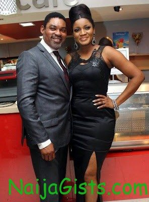 omotola jalade and husband