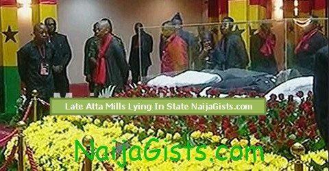 atta mills burial