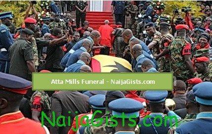 atta mills funeral