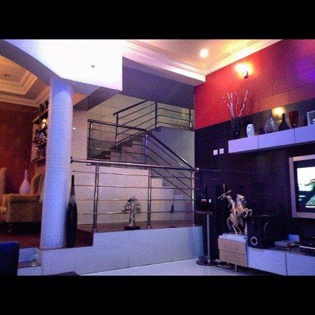 psquare mansion in omole estate