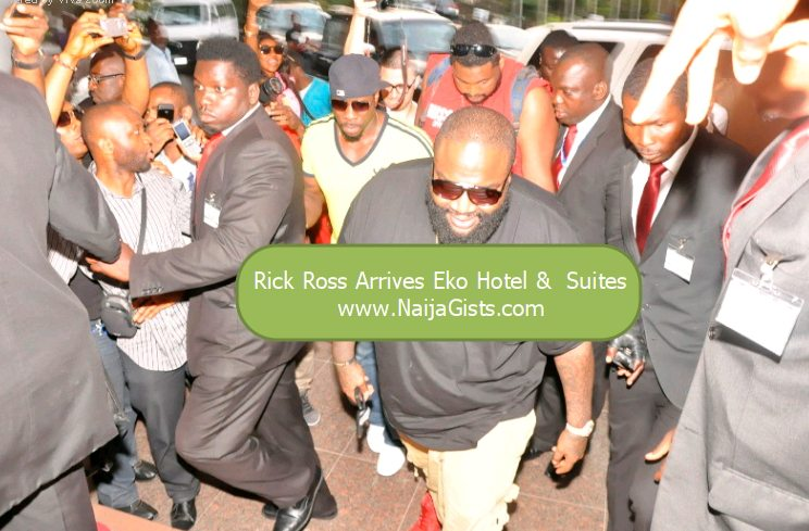 rick ross in nigeria