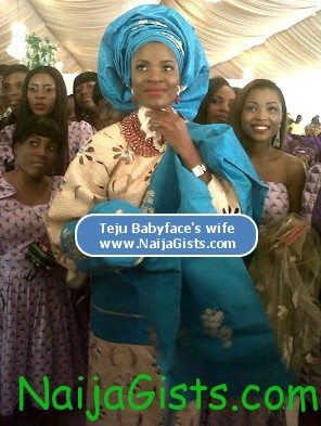 teju babyface traditional wedding