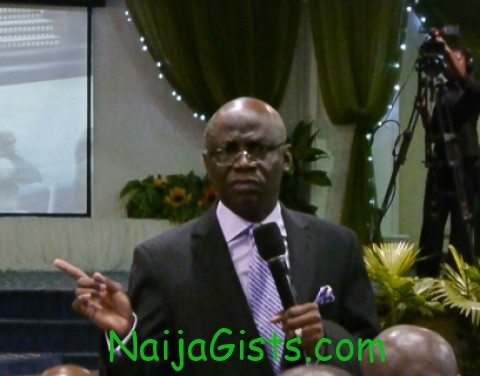 tunde bakare sermon on president