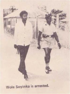 wole soyinka arrest 1967