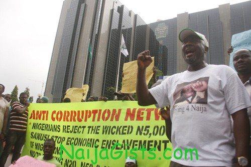 n5000 protest abuja