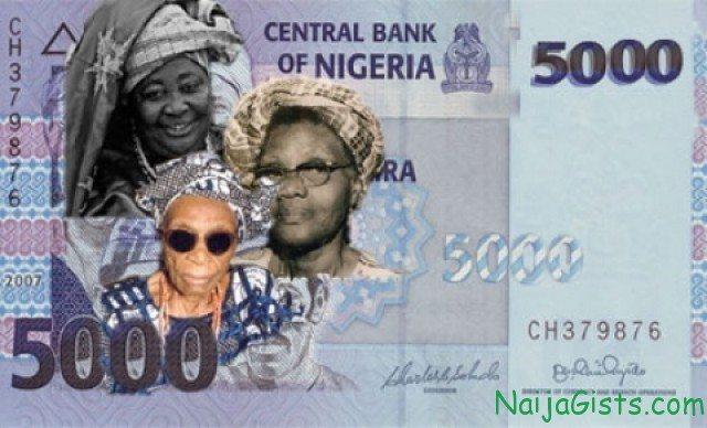 5000 naira bill