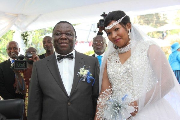 Morgan Tsvangirai wedding