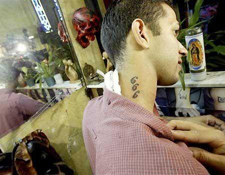 666 tattoos