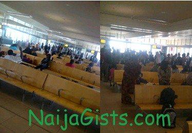 airnigeria passengers stranded