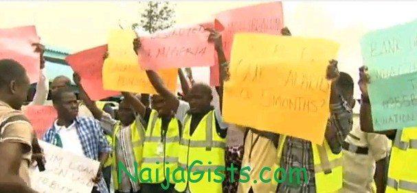 air nigeria staff