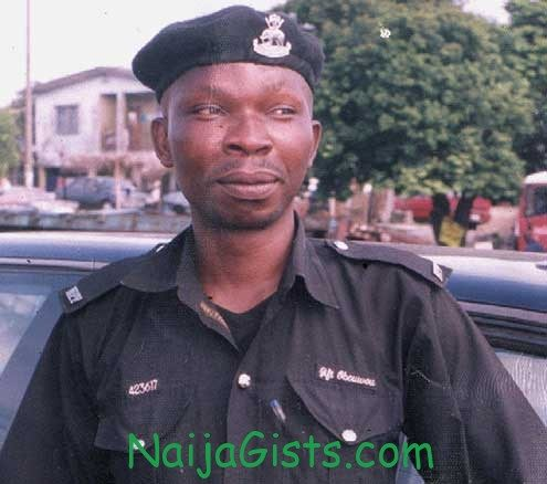 police officer killed by robbers