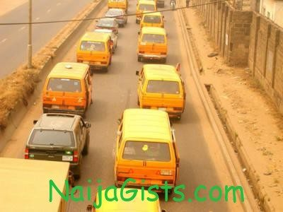 lagos danfo bus driver bites policeman chest and nose