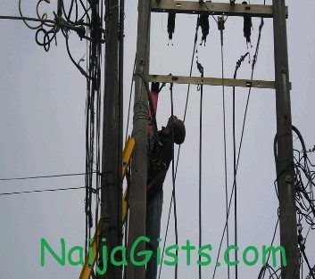 cable thief electrocuted nigeria