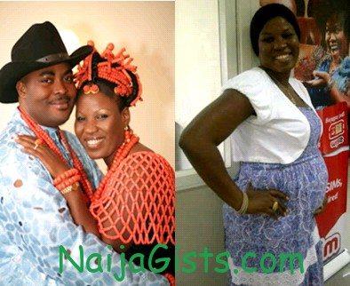 emeka ossai and wife baby