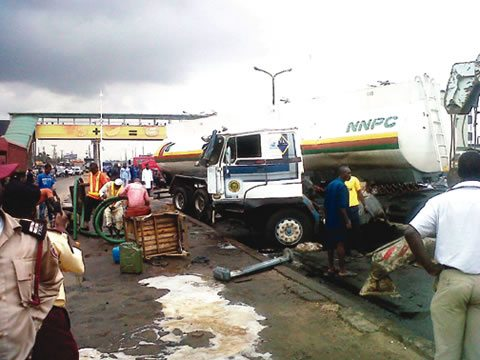 fuel tanker accident ikorodu lagos