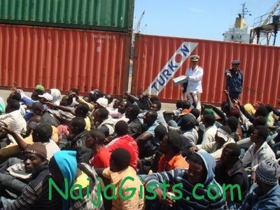israel nigerians deportees