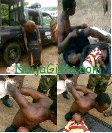 man dead baby abuja