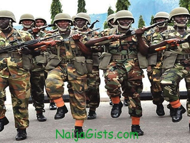 nigerian army form 2013