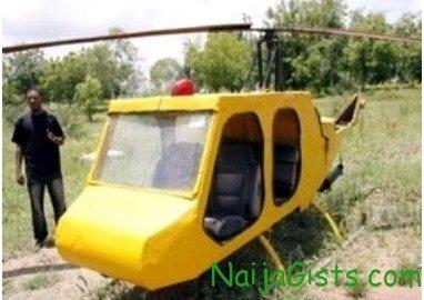 nigerian undergraduate helicopter