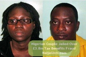 naija couple jailed uk