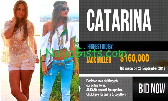 catarina virginity auction