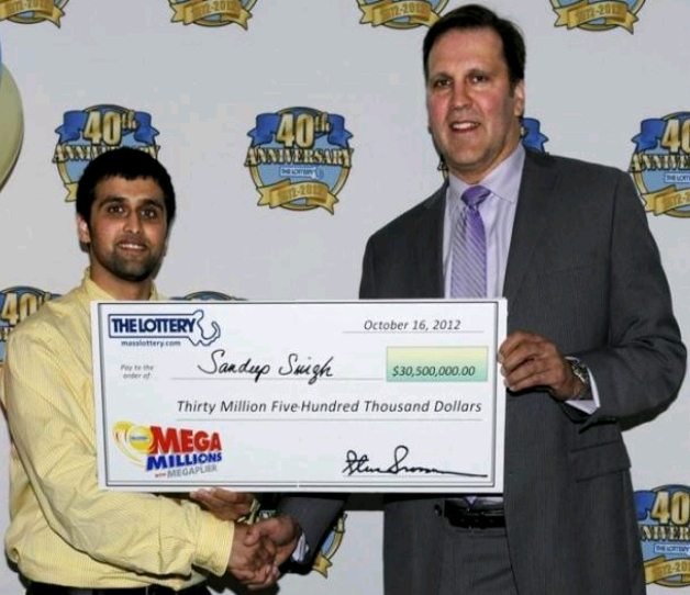 Man Wins $30 Million Mega Millions Lottery After His