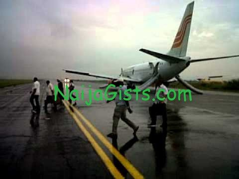 aero contractors faulty engine