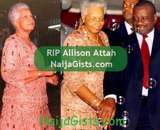 allison victor attah wife dead