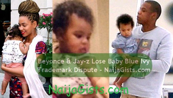 blue ivy trademark dispute