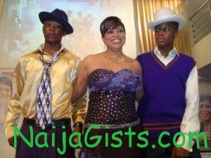 bukky wright children sons