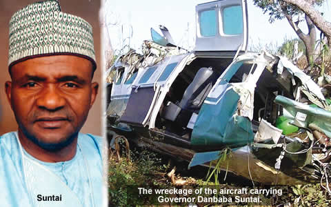 governor danbaba suntai plane crash