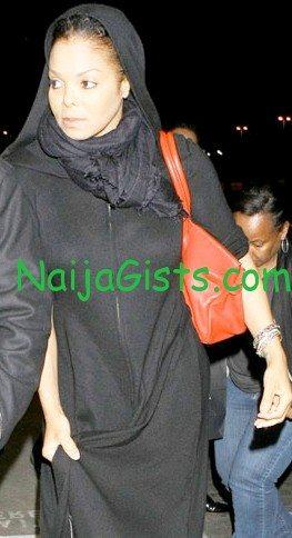 janet jackson wearing hijab