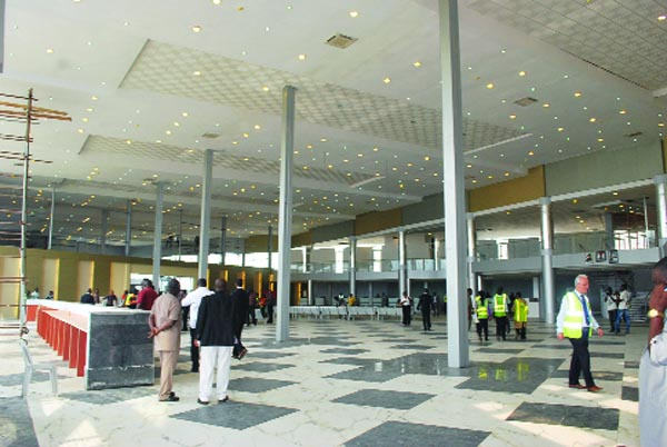 lagos new airport terminal