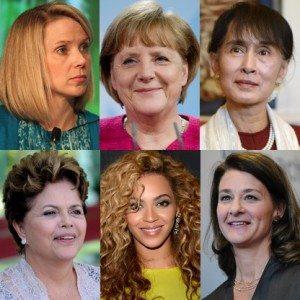 most powerful women 2012