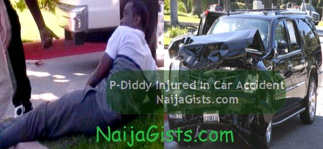 p diddy car accident los angeles