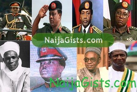 past nigerian presidents since 1960