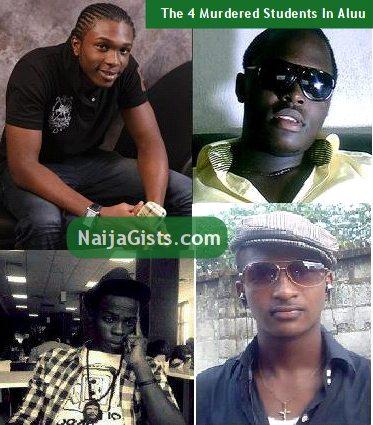 uniport students killed aluu