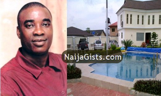 king wasiu ayinde new house