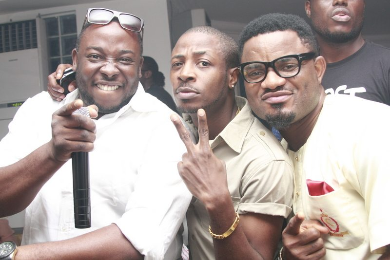 Jedi, Tunde Ednut and Chris BBA