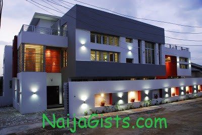 2face idibia mansion house pictures