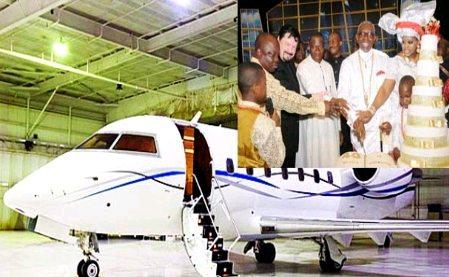 Pastor Ayo Oritsejafor private jet
