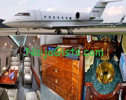 Pastor Oritsejafor private jet pictures