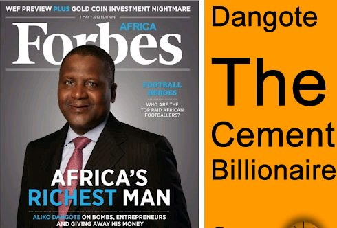 Aliko Dangote Rated World's 62nd Richest Man At $13 5
