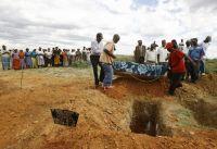 farmer dead baby grave zimbabwe