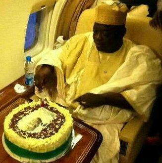 governor aliyu private jet